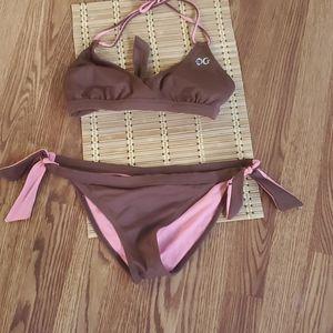 Guess Bikini 2 pc large brown/pink